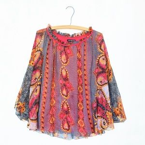 Kas New York Anthropologie Dolman Blouse